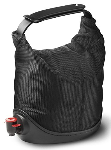 Menu 4655539 Baggy Winecoat Wine Bag Tote, Black