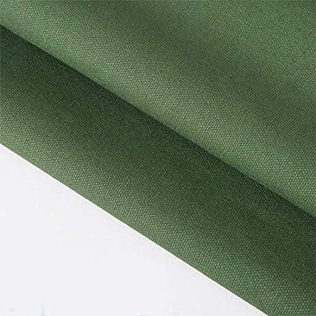 ONECHANCE 100% tela de algodón Tela de lona gruesa Color sólido Mantel de cortina Material de bricolaje por metro 100x150cm (39
