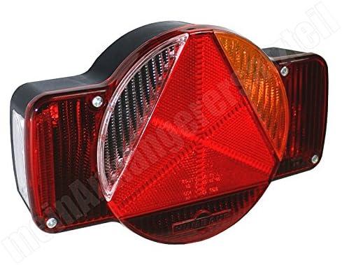 /Destro humbaur Fanale Posteriore multifunzione a LED coda posteriore della luce/