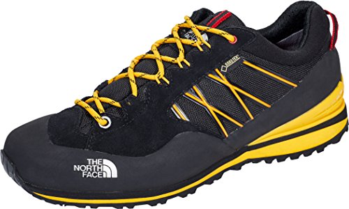 The North Face M Verto Plasma II GTX, Scarpe da Trail Running Uomo Nero (Tnfblack/Tnfylw)
