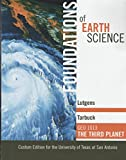 Foundations Earth Science 9780536670359