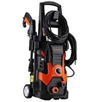 Händewerk High Pressure Washer - Heavy Duty Electric Sprayer for Driveways, Homes, Sidewalks, Patios, Decking - Powerful Surface Cleaning