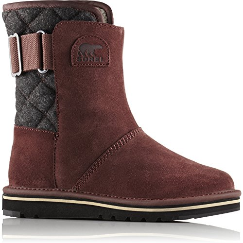 Sorel Newbie Short Womens Boots UK 5 Redwood Black by SOREL