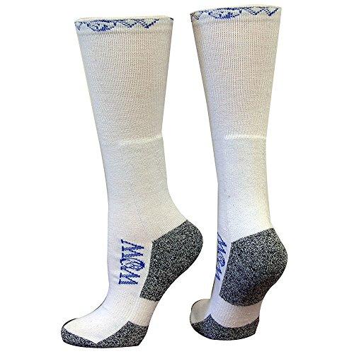 Wow Calcetines De Arranque Para Hombre Adulto, Blanco