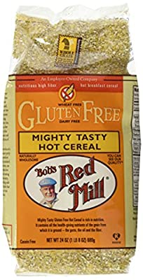 Bob's Red Mill Mighty Tasty Gluten-Free Hot Cereal, 24 oz (Pack of 4)