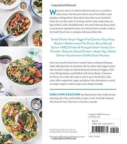 The Domestic Geek S Meals Made Easy A Fresh Fuss Free Approach To