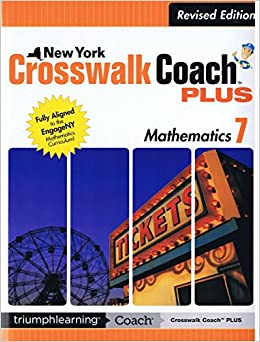 crosswalk coach math grade 7 answer key