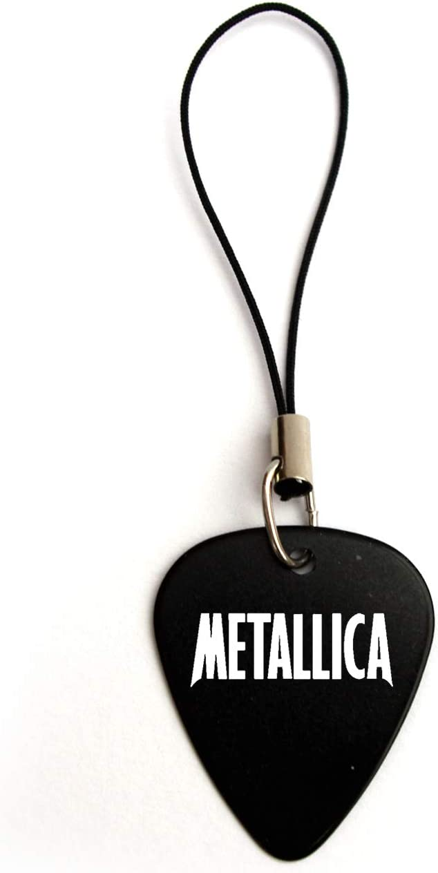 Metallica púa de guitarra púa joyas y accesorios BW, Abalorio ...