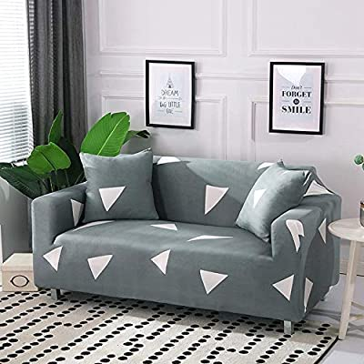 Pcsacdf Slipcover Sofa Stretch Sofa Cover Cotton Elastic Corner Sofa Cover All Inclusive L Shape Couch Cover Sofa Covers For Living Room 3 Seater 190 230cm Color 7 Buy Online At Best Price In Uae