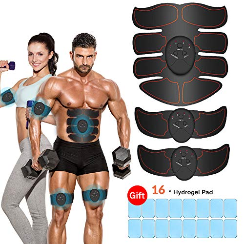 Abs stimulator for men- Muscle Toner Abdominal Toning Belt Fit for Body Arm,Abs Trainer Muscle...
