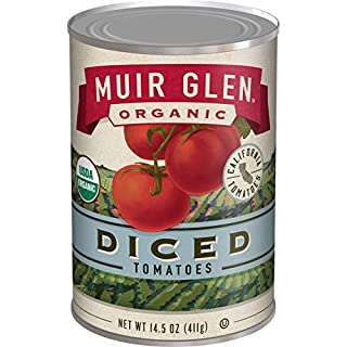 Muir Glen, Organic Diced Tomatoes, 28 oz (Pack of 12)