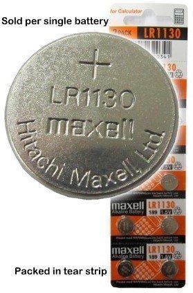Bande de 10 Maxell frais LR1130
