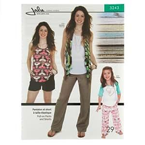 JALIE PATTERNS 0310323 Jalie Pull-On Pants and Shorts Pattern