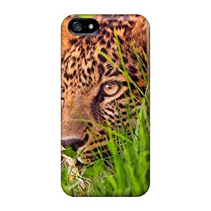 Protective Tpu Case With Fashion Design For Iphone 5/5s (lovely Leopard)