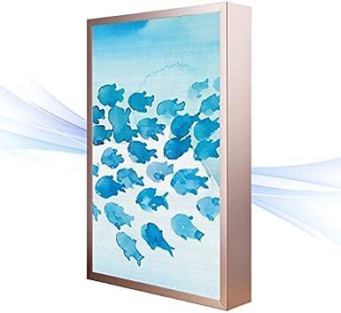 BESPD Los murales creativos japoneses modernos apliques de luz PASILLO Pasillo Salón Dormitorio lámpara de mesilla B grande de 40*60cm.: Amazon.es: Iluminación