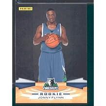 2009 /10 Panini NBA Basketball Card # 306 Jonny Flynn Minnesota Timberwolves Mint Condition