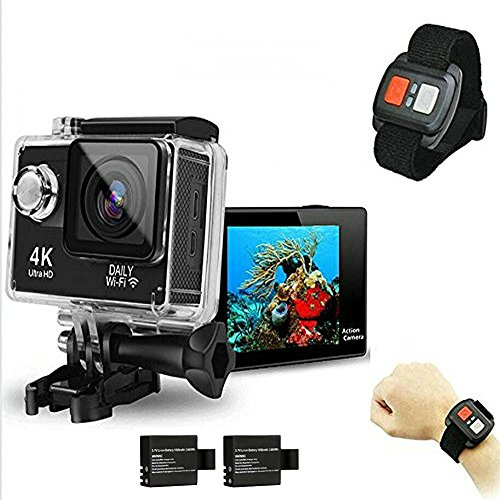 DAILY Original Mini Ultra 4K HD1080P WiFi DV Action Sports Camera Waterproof Camcorder mit Fernbedienung