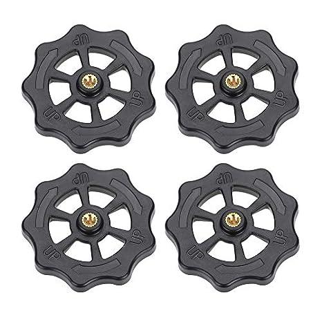 4 piezas de impresoras 3D CR-10 Hotbed plataforma Knob,Impresora ...
