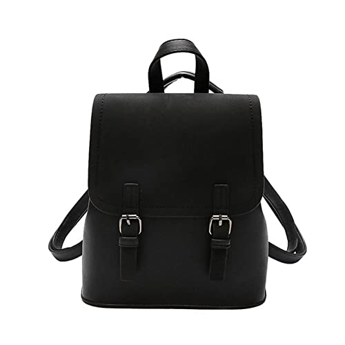 VHVCX Leather Fashion Vintage Designer Backpack Schoolbag Teenage Backpacks  For Girls Women School Sac A Dos Bagpack Travel Small 8a7d03edf1bb0