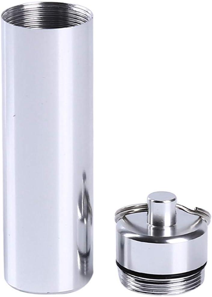86 * 11mm Weryffe Tragbare Zahnstocher Box Mini Wasserdichtigkeit Versiegelt Zahnstocher Rohr Schl/üsselbund f/ür Outdoor Reise Praktische Zahnstocher Halter Container