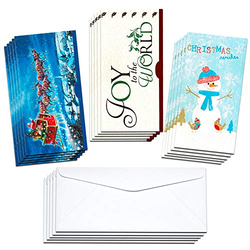 nd Gift Card Holders with Envelopes - Season Greetings Designs May Vary ()