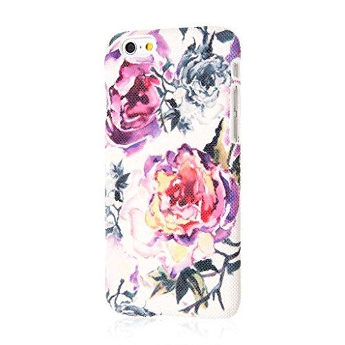 "EMPIRE Signature Series Slim-Fit Case Étui Coque for Apple iPhone 6 4.7"" �?Pink Faded Flowers"
