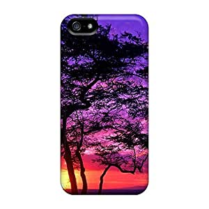 New For SamSung Note 2 Phone Case Cover Casing(purple Maui Tree)