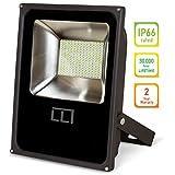 LLT LED FLAT Floodlight 10W SMD Outdoor Landscape Security Waterproof 5000K (Daylight)