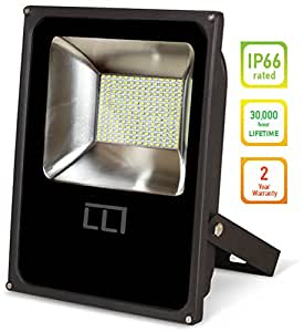 LLT LED FLAT Floodlight 10W SMD Outdoor Landscape Security Waterproof 5000K (Daylight)