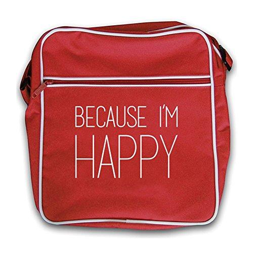 Bag red Retro I'm Flight Because Red Happy pInZ8qH