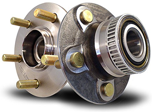 Callahan C512167X2 [2] Pair REAR Premium Grade [ 5 Lug ABS ] Wheel Hub Bearing Assemblies [ 512167 ] (Rear Bearings Premium Wheel)
