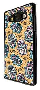 508 - Shabby Chic Multi Hamsa Hands Design For Samsung Galaxy A5 Fashion Trend CASE Back COVER Plastic&Thin Metal