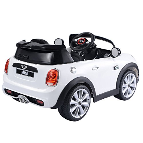 Costzon Ride On Car, Licensed BMW Mini Cooper Electric Car