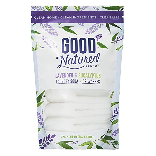 Eco Friendly Laundry Soap (Good Natured Brand THE BEST All-Natural Eco-friendly Lavender and Eucalyptus Laundry Soda/Detergent 52 load bag 32 oz.)