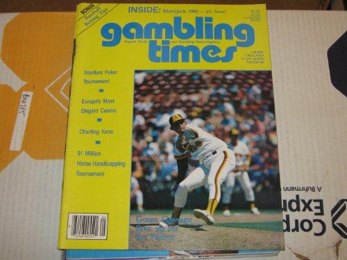 Gambling Times Magazine (Goose Gossage , Padres , Europe