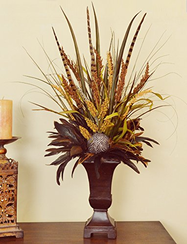 Grass and Feather Floral Design NC143