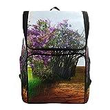 YCHY Backpack Eco Concept Live Dead Tree Lightweight Travel Bag Hiking Knapsack College Student School Bookbag Travel Daypack for men women