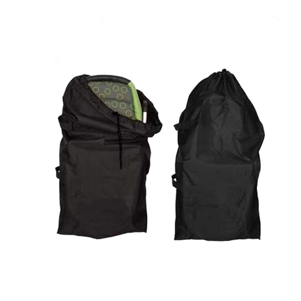 Yuccer Umbrella Stroller Travel Bag for Airplane with Shoulder Strap Infant Strollers Storage Waterproof Gate Check Bags Black Large(B)