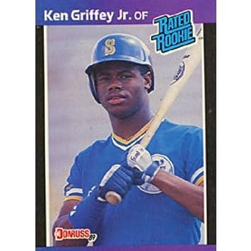 Ken Griffey Jr Rookie 1989 Donruss No33 Baseball Card At