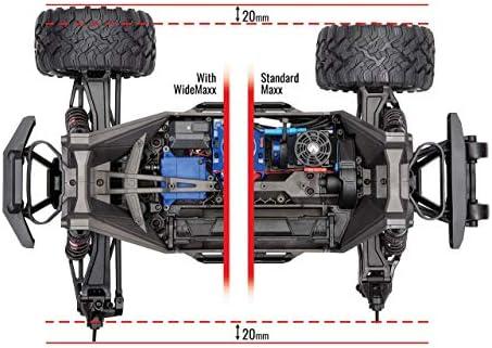 Traxxas Set WideMaxx Kit de Suspension Large Noir TRX8995