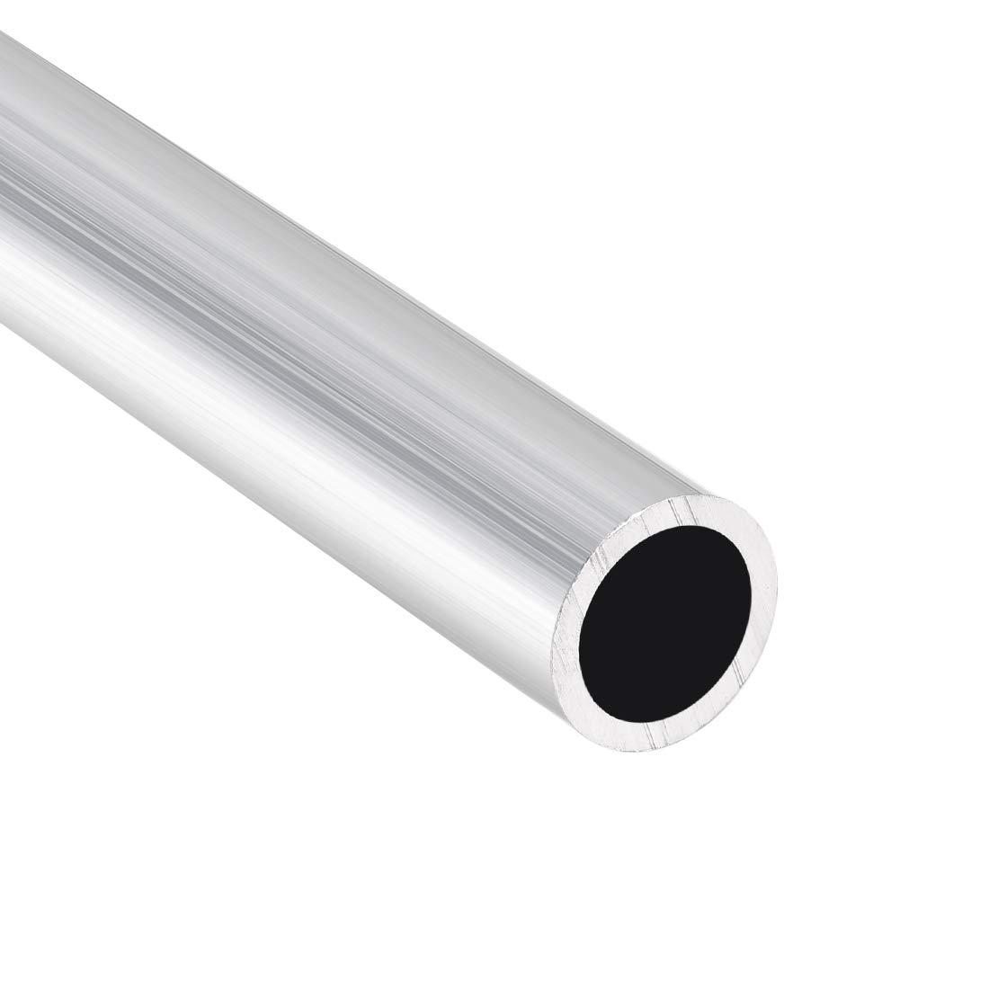 uxcell 6063 Aluminum Round Tube 300mm Length 13mm OD 10mm Inner Dia Seamless Aluminum Straight Tubing 2 Pcs