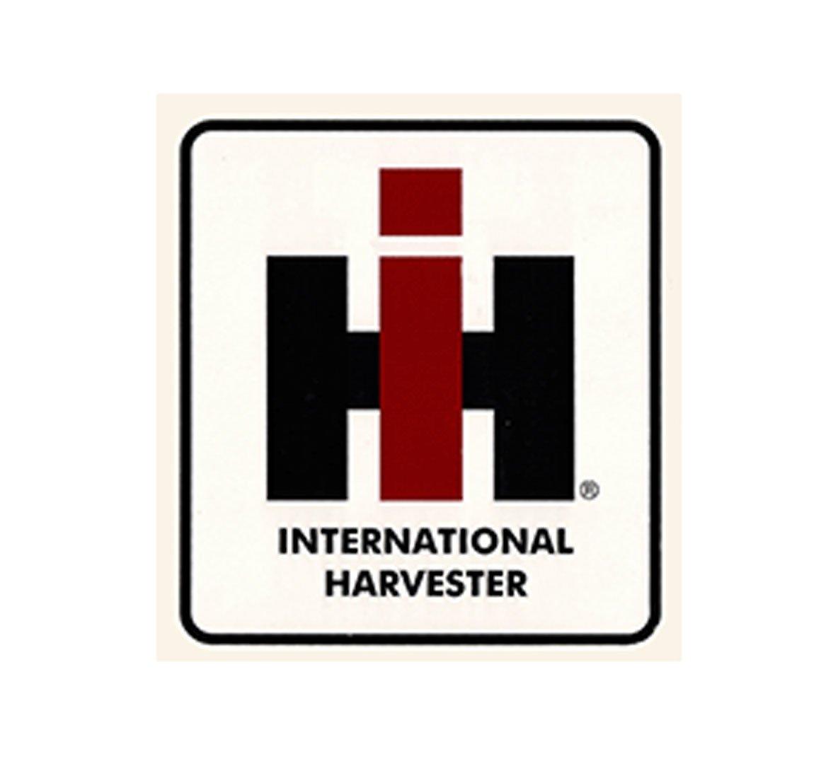 International harvester tractor ih ihc block decal large for International harvester decor