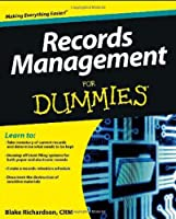 Records Management For Dummies Front Cover