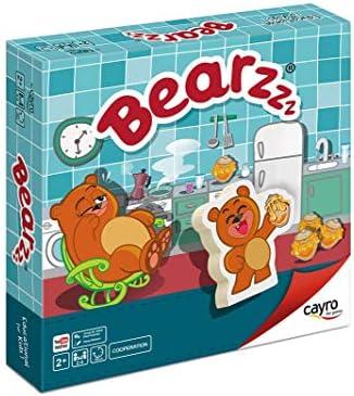 Cayro - Bearzzz - Juego de Mesa Infantil - Juego de cooperación Desarrollo de Habilidades visuales y razonamiento- Juego de Mesa (833): Amazon.es: Juguetes y juegos