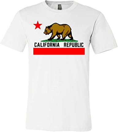 Dolphin Shirt Co California Republic Borderless Bear Flag Black Text Youth Sweatshirt Hoodie