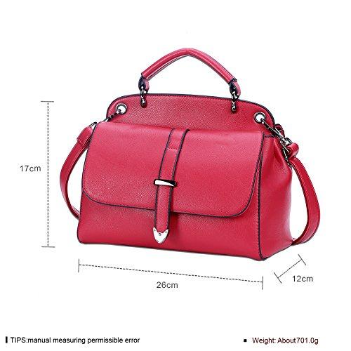 À Bandoulière Shell Assorties nbsp; couleurs rouge Fashion Main Sac Ladies qXHBwtB