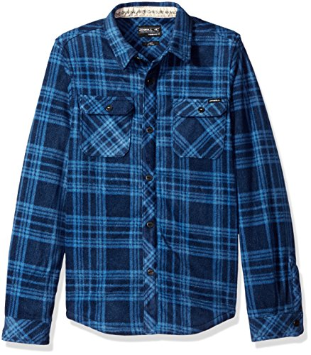 ONeill Boys Glacier Plaid Sleeve