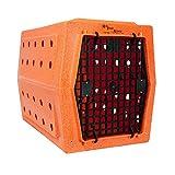 Ruff Tough Kennels Large Single Door Kennel, Crate, Dog House, (L-35'', W-22'', H-26 1/4'') (Orange)