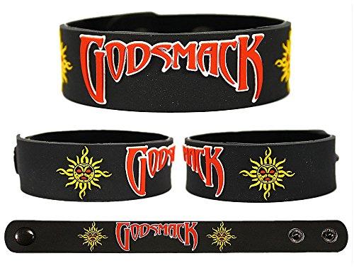 GODSMACK Rubber Bracelet Wristband Awake Faceless The Oracle