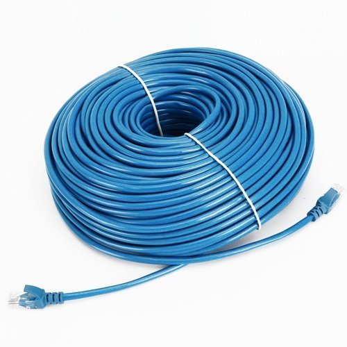 Cable N Wireless Blue 200FT CAT5 CAT5e RJ45 PATCH ETHERNET NETWORK CABLE For PC, Mac, Laptop, PS2, PS3, XBox, and XBox 360 to hook up on high speed internet from DSL or Cable internet. by Cable N Wireless